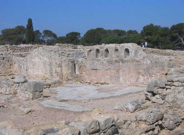Paleochristian Basilica, ruins at Empuries.