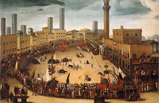 The Palio di Siena