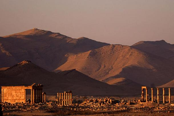 A view of Palmyra in 2006.