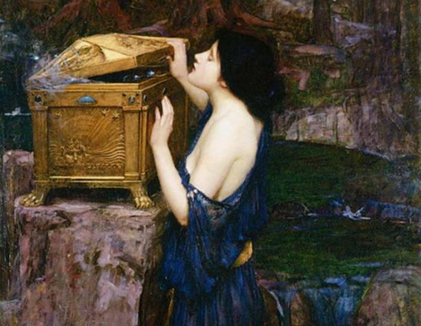Pandora by John William Waterhouse. (Public Domain)