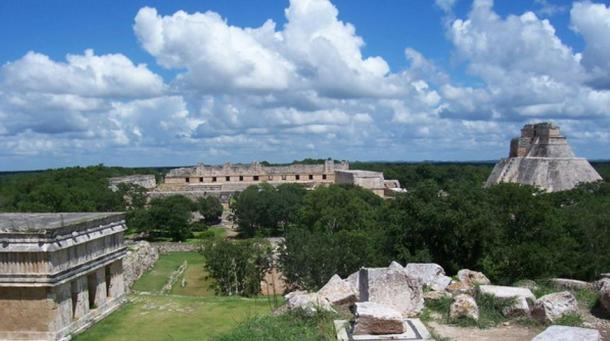Panorama of Uxmal