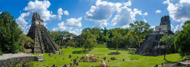 Panorama of Tikal, Guatemala. (Simon Dannhauer /Adobe Stock)