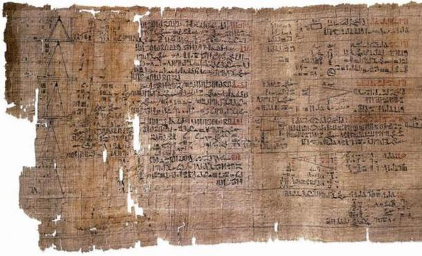 The Rhind Mathematical Papyrus, the most extensive papyrus