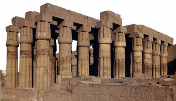 Figure 5. Papyrus-shaped columns at the Temple of Amun, Luxor.