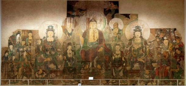 The Paradise of Maitreya, Zhu Haogu and Zhang Boyuan, 1320