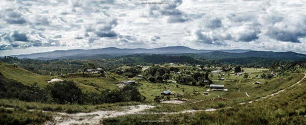 Paramakatoi village, Guyana.