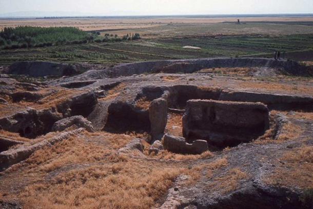 Part of Çatalhöyük and surrounding area.