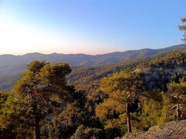 Part of Troodos Mountains. (Tech bro / CC BY-SA 3.0)