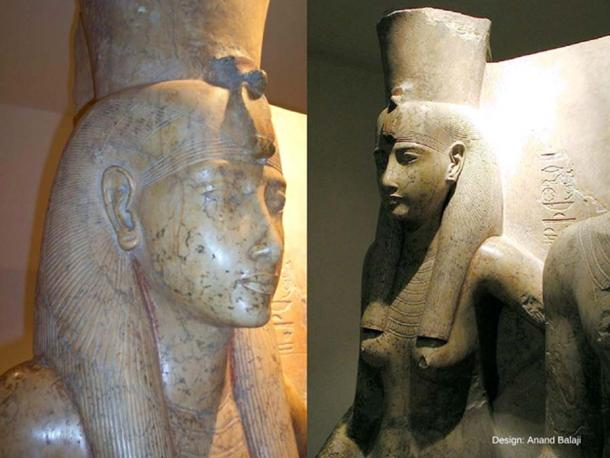Part of a dyad, isolating the portion of goddess Mut. Dr Aidan Dodson opines that this sculpture, from the Luxor Temple statue cache, probably represents the likeness of Queen Ankhesenamun. Luxor Museum. (Jon Bodsworth/ Public Domain)