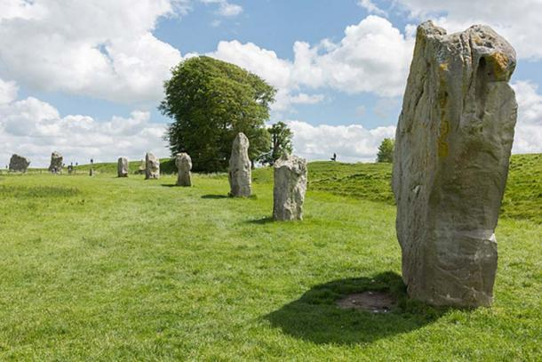 Part of the South Inner Circle of Avebury in Wiltshire, England. (CC BY-SA 3.0)