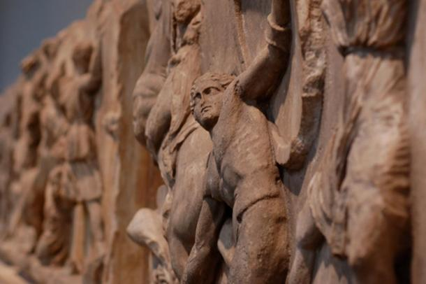 Detail from the Parthenon Marbles