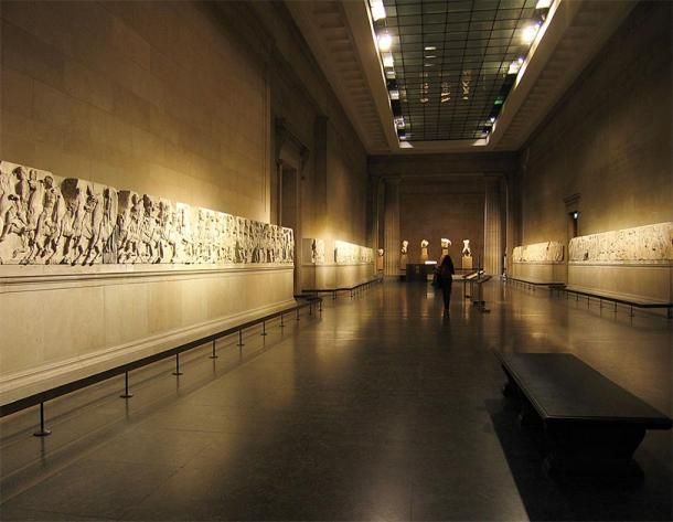 The Parthenon Marbles are part of a 525 foot (160 meter long) frieze. (Solipsist~commonswiki / CC BY-SA 2.0)