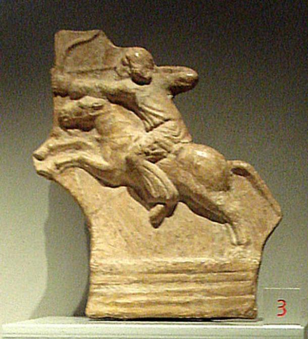 Parthian horseman