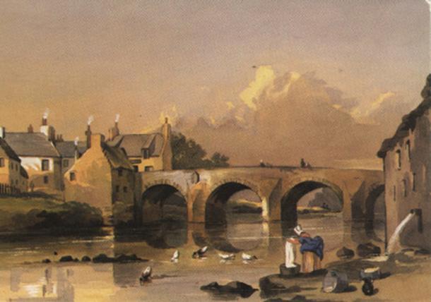 Partick Bridge over the Kelvin, 1846.