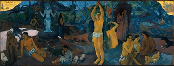 Paul Gauguin's 1897 painting 'Where Do We Come From? What Are We? Where Are We Going?' (Public Domain)