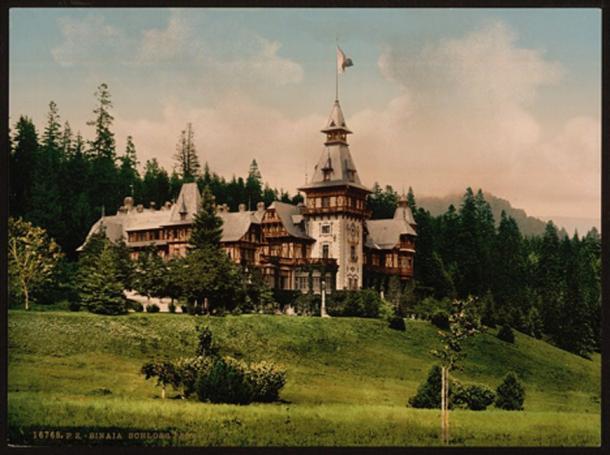 Peleș Castle circa 1890 -1900