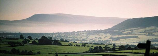 Pendle Hill from the northwest.