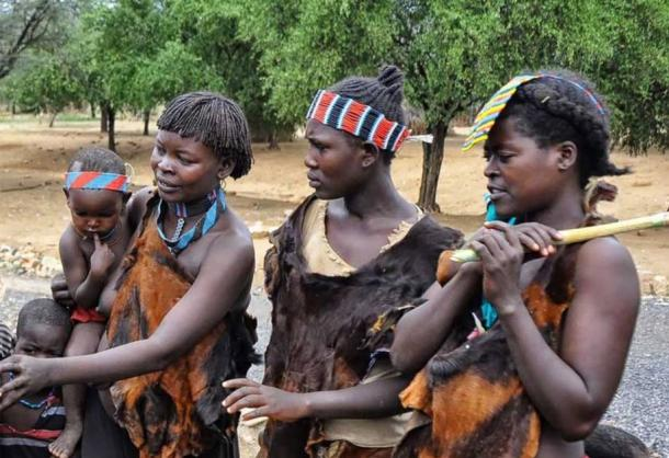 People of the Tesemay Tribe, of the Omo Valley, Ethiopia.