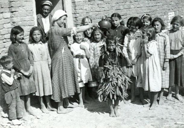 Peperuda in Bulgaria. 1950s (Public Domain)