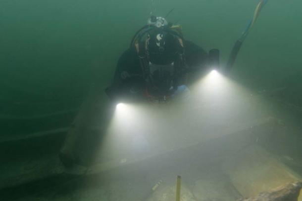Perfectly preserved Viking shipwrecks discovered. (Landesamt für Kultur und Denkmalpflege Mecklenburg-Vorpommern)
