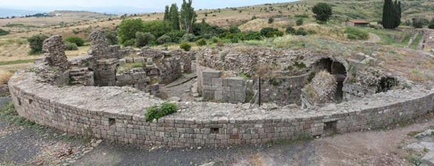 Temple of Telesphorus in the Sanctuary of Asclepius, Pergamum, Turkey
