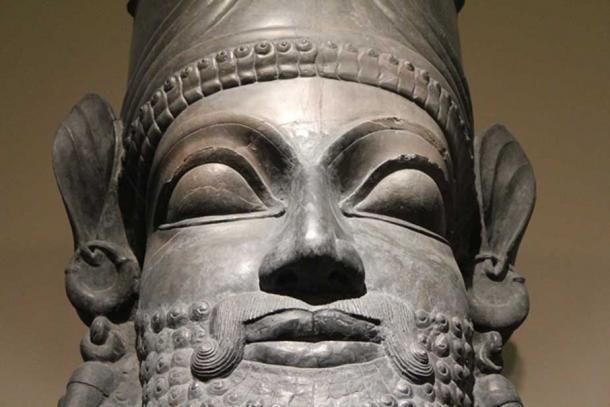 Persepolis. Limestone. Reign of Xerxes, 486-465 BC