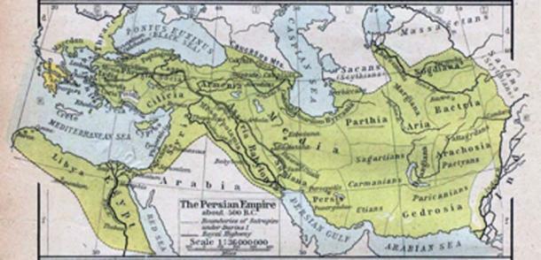 Persian Empire in the Achaemenid era. (पाटलिपुत्र / Public Domain)