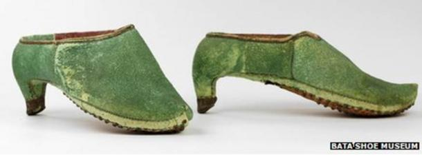17th century Persian cavalry shoes