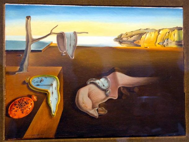 'The Persistence of Memory' painted by Salvador Dalí in 1931. (Via Tsuji / CC BY-NC-ND 2.0)