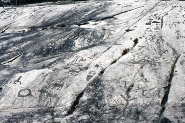 Peterborough Stone petroglyphs
