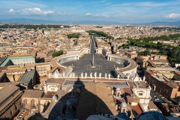 View of St Peter's Square, Vatican City. Credit: Ioannis Syrigos