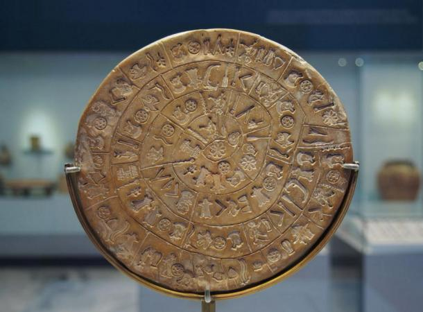 Side A of the Phaistos Disc