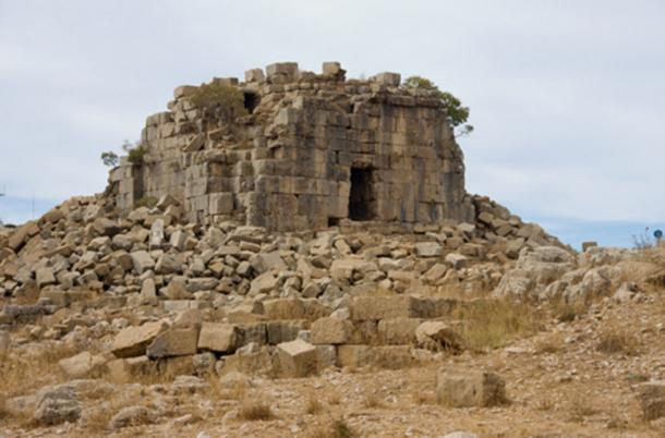 Phoenician temple to the goddess Astarte.
