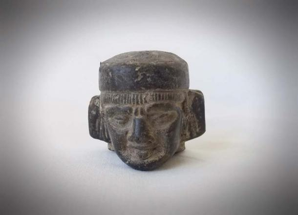 Photo of Chac-Mool figurine head - Photo taken from the author's private collection. (Via Author)