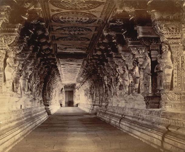 Photograph of the temple taken by Nicholas and Company in c.1884.