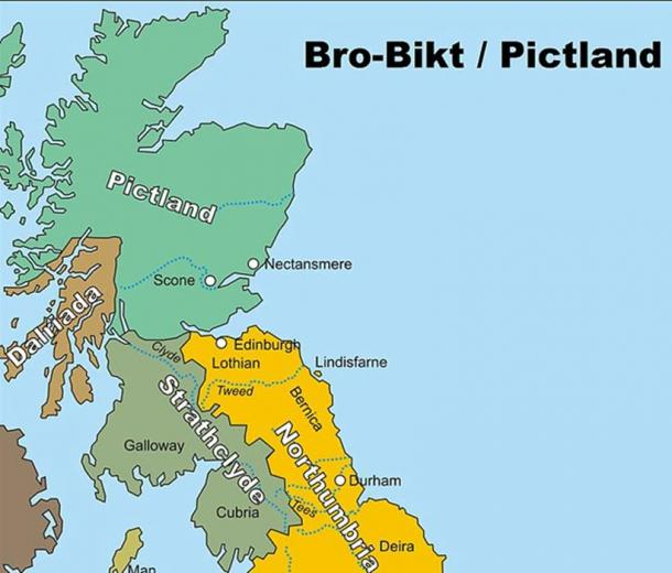 Map of Pictland.