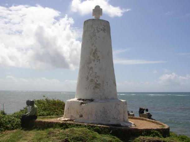 Pillar of Vasco da Gama in Malindi, in modern-day Kenya, erected on the return journey. (Mgiganteus / CC BY-SA 3.0)