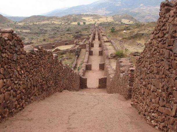 Piquillacta - Huari archaeological site.