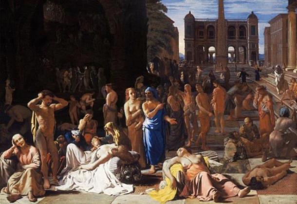 Plague in an Ancient City (1652-1654) by Michiel Sweerts. (Public Domain)