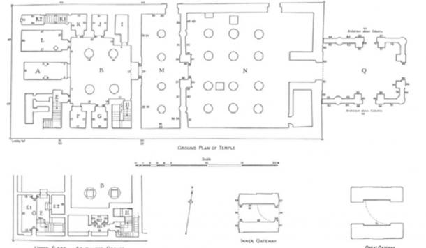 Plan of the Temple of Hibis.