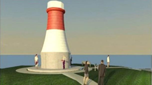 Plans are to rebuild the beacon on the coast at The Ness in Torryburn into a witch monument. (Fife Council)