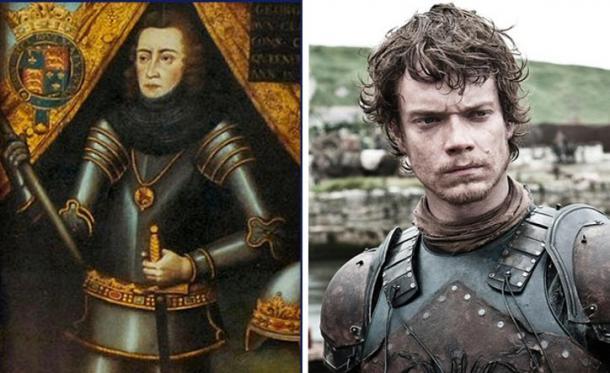 George Plantagenet and Theon Greyjoy (Mentalfloss)
