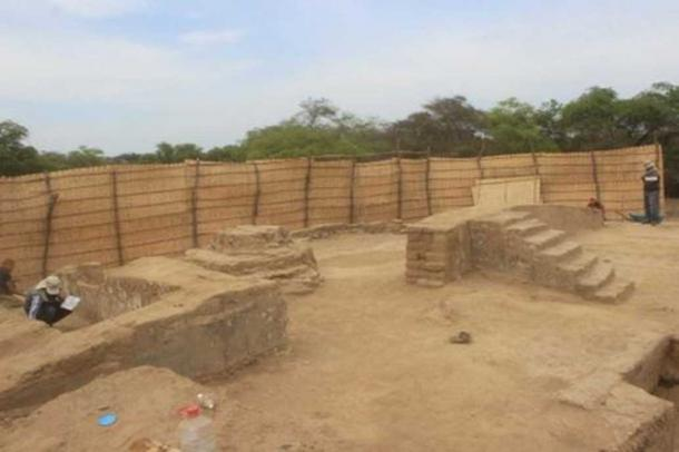 Platforms and podiums have been unearthed at the Huaca Limon site.