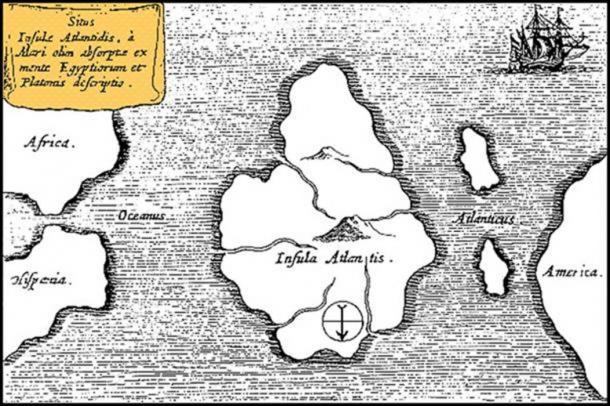 Plato's Atlantis described in Timaeus and Critias.