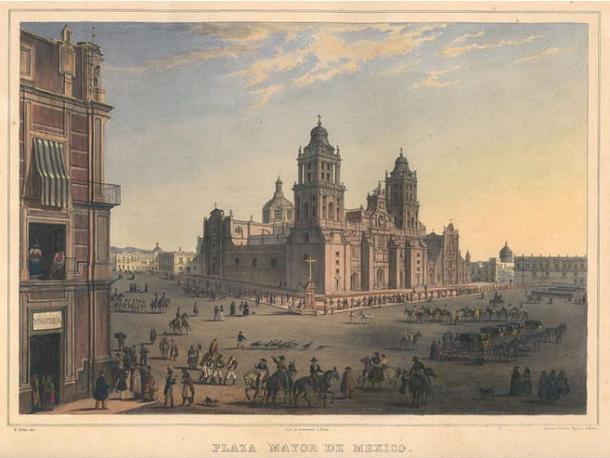 Plaza Mayor, Mexico City (Wikimedia Commons)