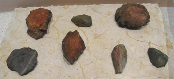 Pleistocene Tools discovered at the Calico Early Man Site. (Travis / CC BY-SA 2.0)