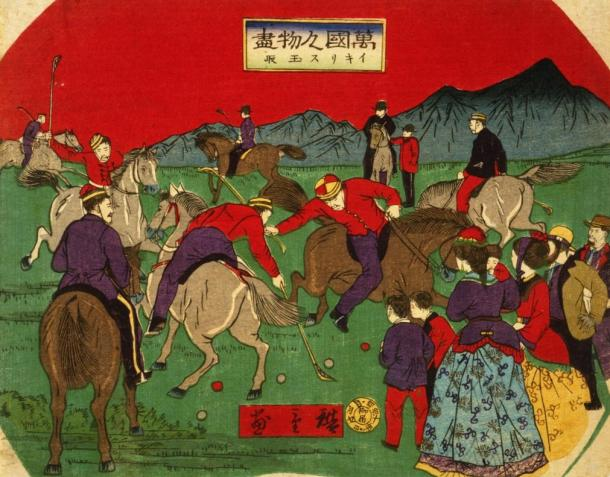 Polo spread all over Asia and eventually the West