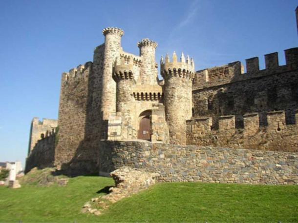 Ponferrada Castle, 'Castle of the Templars, Leon, Northern Spain