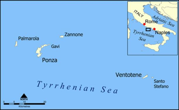 Ponza and the Pontine Islands (CC BY-SA 3.0)