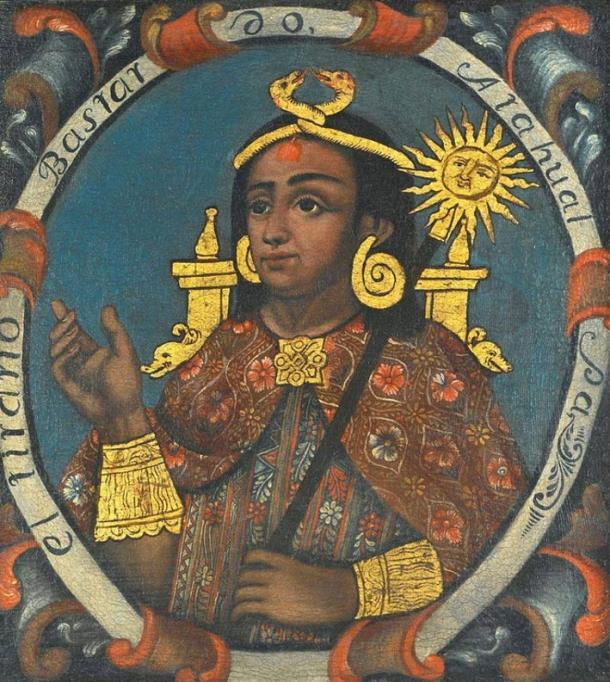 Portrait of Atahualpa, Fourteenth Inca. Brooklyn Museum